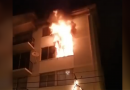 Un detenido y un adulto mayor lesionado es el saldo de un incendio en un departamento en Placilla Valparaíso